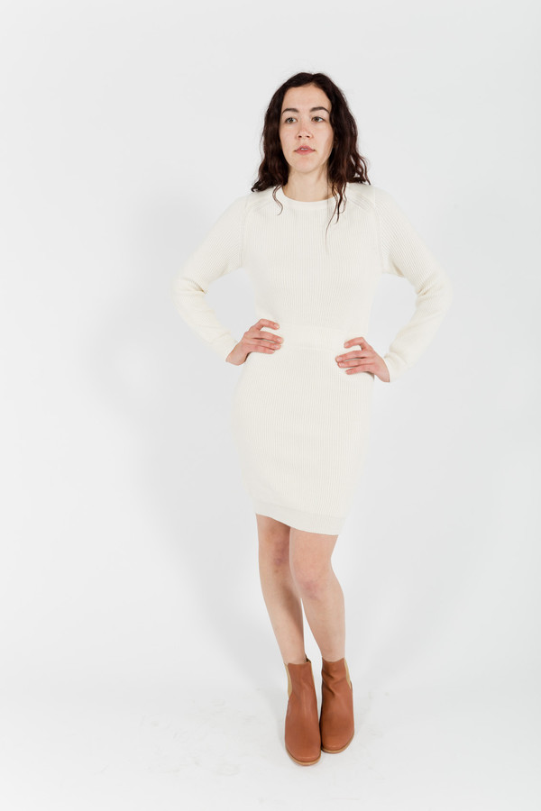 Le Mont St. Michel Sweater Dress