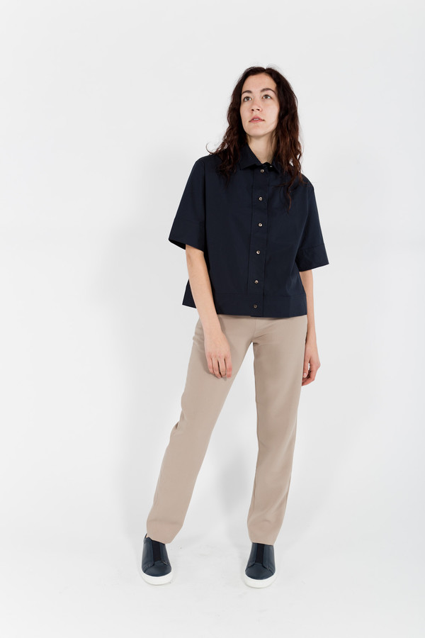 Studio Nicholson Tino Button-up Box Shirt