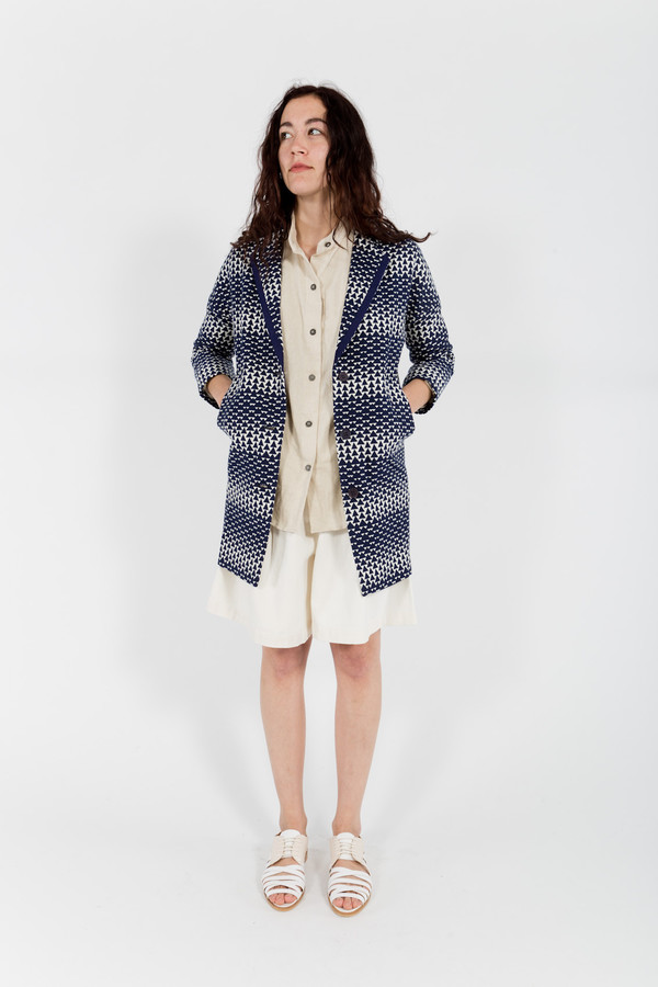 Le Mont St. Michel Triangle Coat