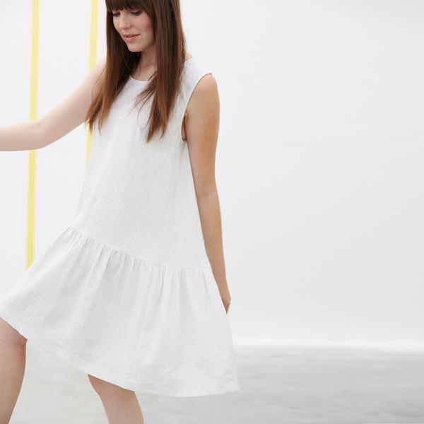 Ali Golden CUT-OUT MIDI DRESS - BLACK