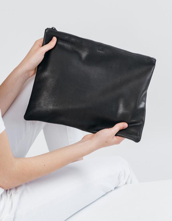 Baggu Large Flat Pouch Black