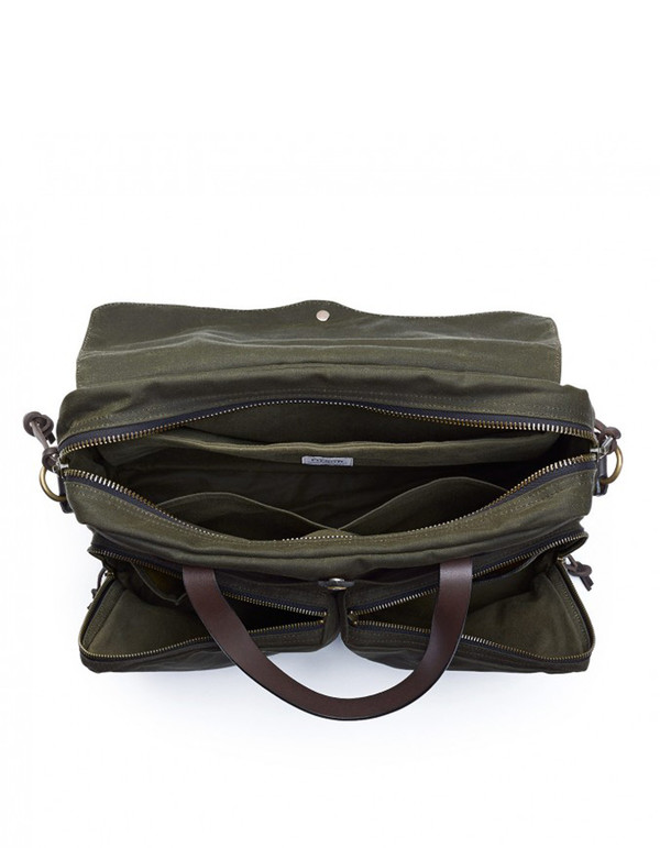 Filson 24 Hour Tin Briefcase Otter Green