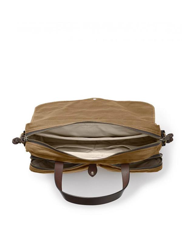 Filson 24 Hour Tin Briefcase Tan