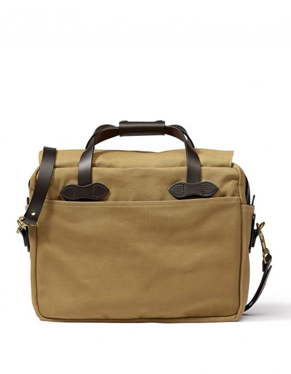 Filson Briefcase Computer Bag Tan