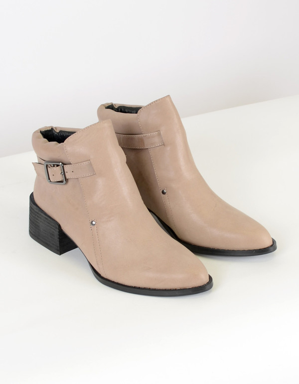 Intentionally Blank Mast Ankle Boot Taupe