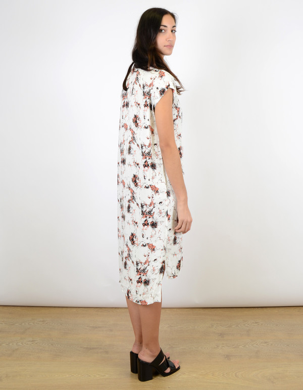 Just Female New Marbel Dress Red Aop