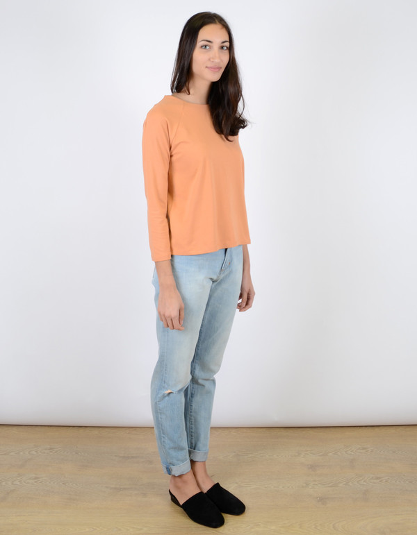 Just Female Sippo Blouse Toasted Nut