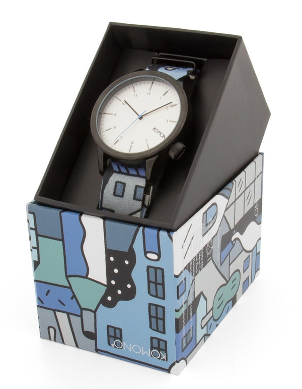 Komono x Andy Rementer Magnus Watch City
