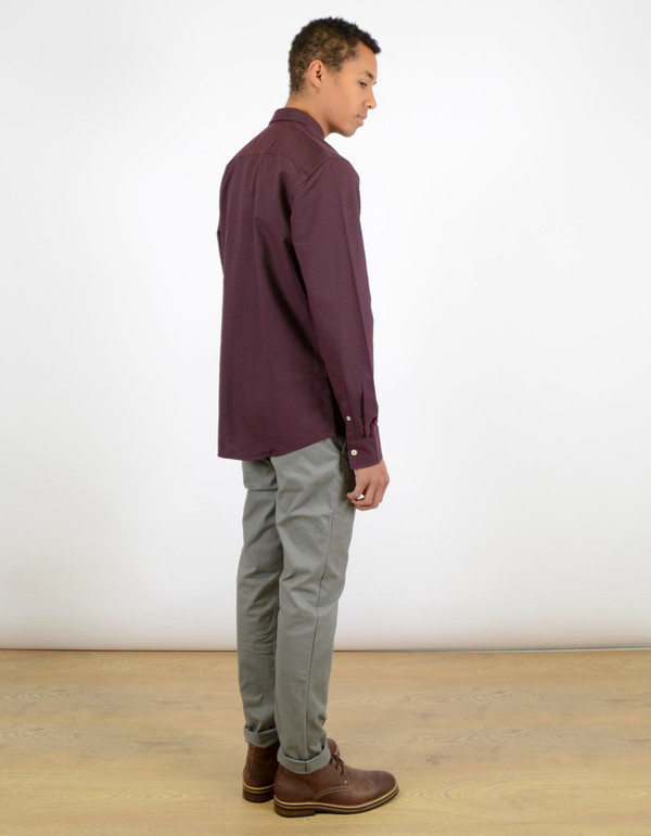 Minimum Chris Shirt Bordeaux