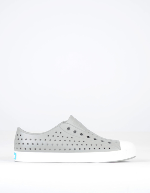 Native Shoes Native Jefferson Pigeon Grey with Shell White