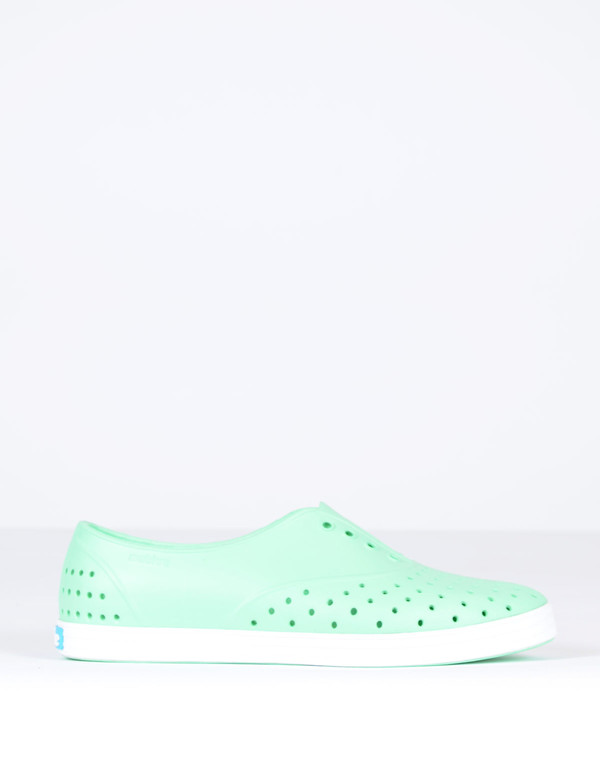 Native Shoes Native Jericho Moola Green with Shell White