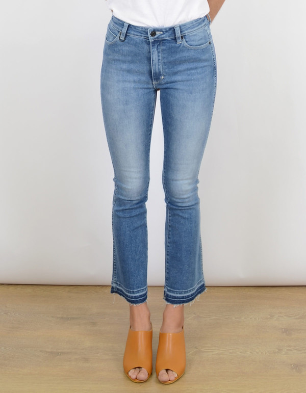 Neuw Jane Slim Boot Jean Paris Blue
