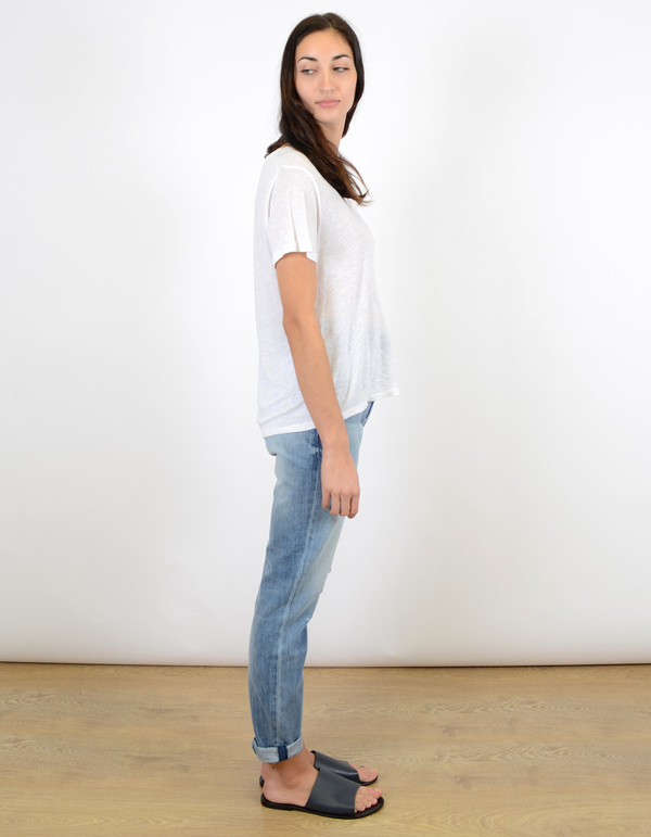 Neuw Lola High Relaxed Jean True Worn