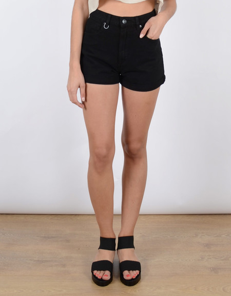 Neuw Lola Short in Pure Black