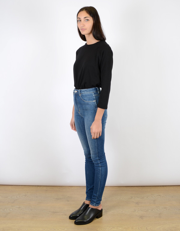 Neuw Marilyn High Rise Skinny Jean Buzz Blue
