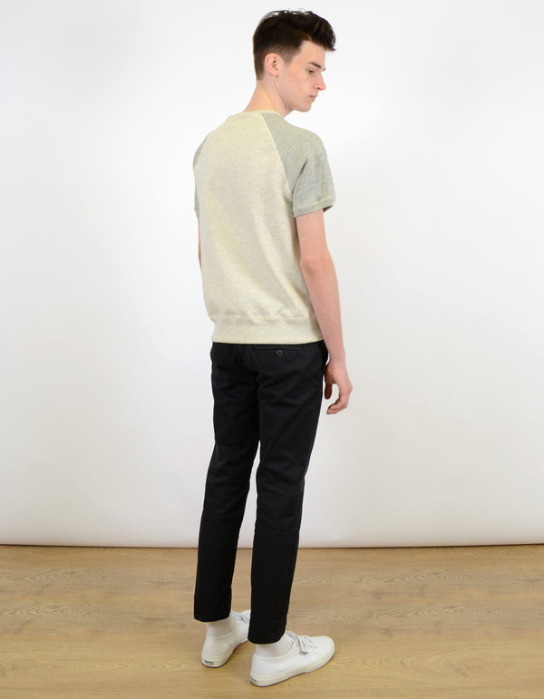 Men's Neuw Straight Enkel Chino Cash Black