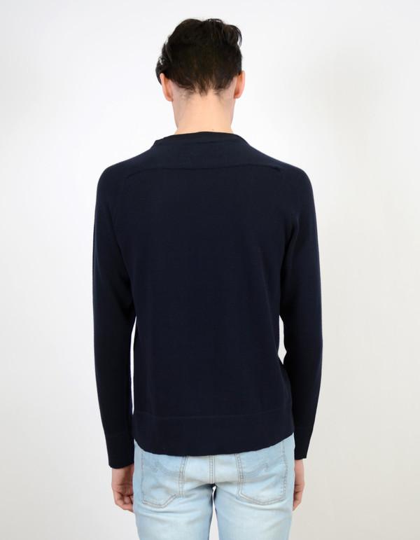 Men's Nudie Dag Sweater Navy