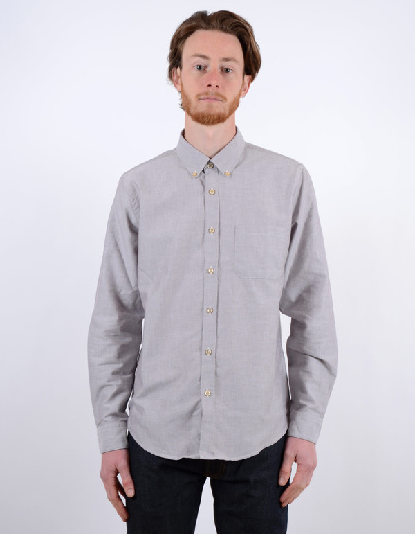 Men's Portuguese Flannel Videira Grey
