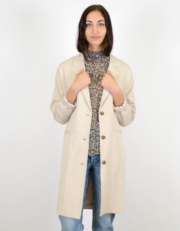Selected Femme Tanja Coat Silver Cloud