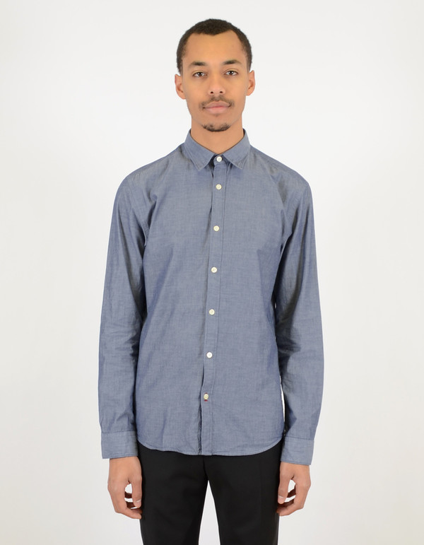 Men's Selected Homme Sandro Shirt Dark Blue