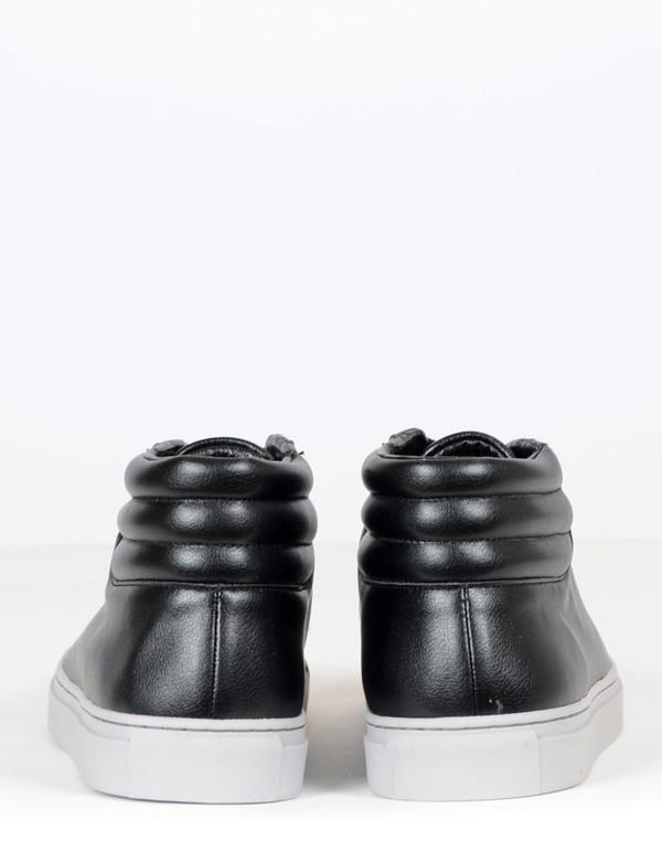 Men's Sully Wong SWJ 6 MId Sneaker Black on Grey