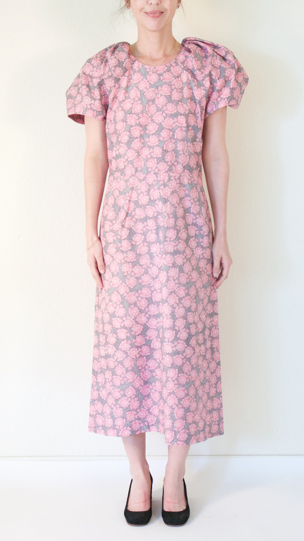 A Détacher Darling Dress in Pink Floral Print