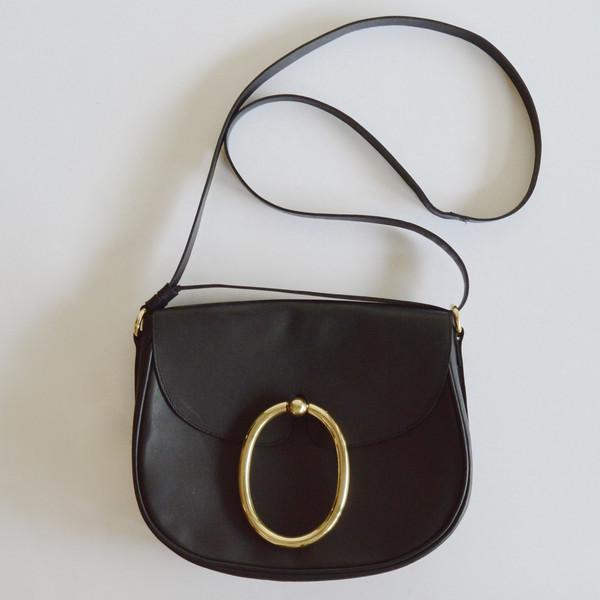A Détacher Lalita Bag in Black Leather