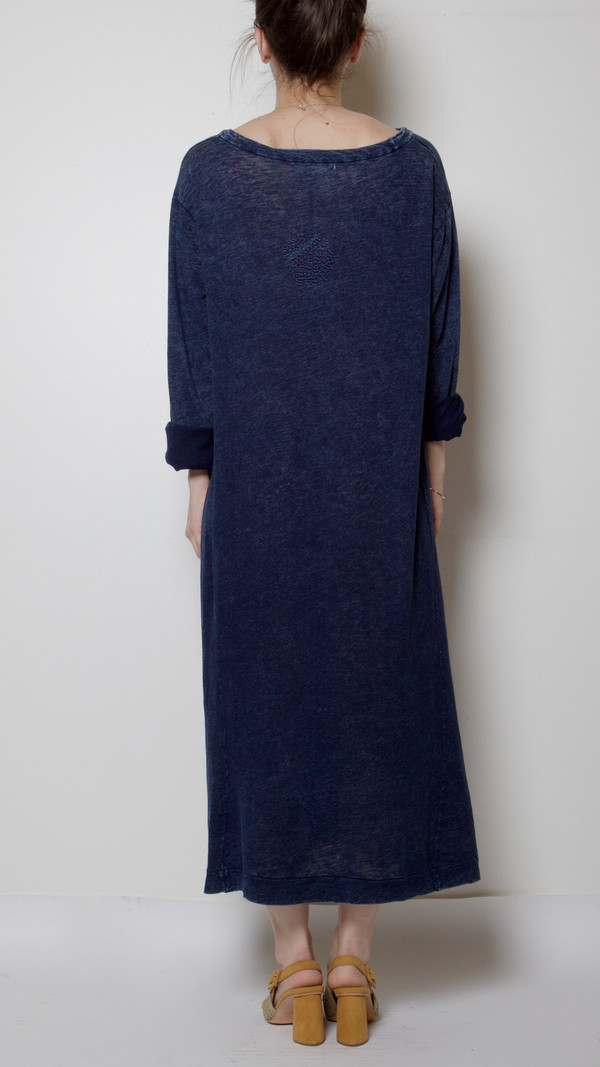 Hansel From Basel Desert Dress in Indigo