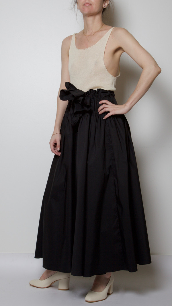 Maryam Nassir Zadeh Carlita Skirt in Black