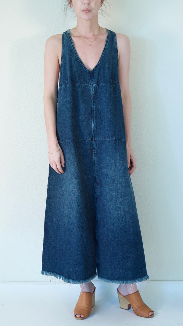 Rachel Comey Buxton Dress in Indigo Denim