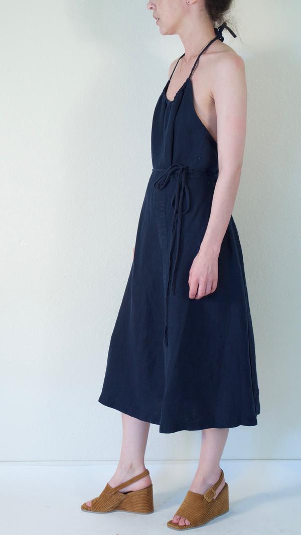 Rachel Comey Driscoll Dress in Navy Linen