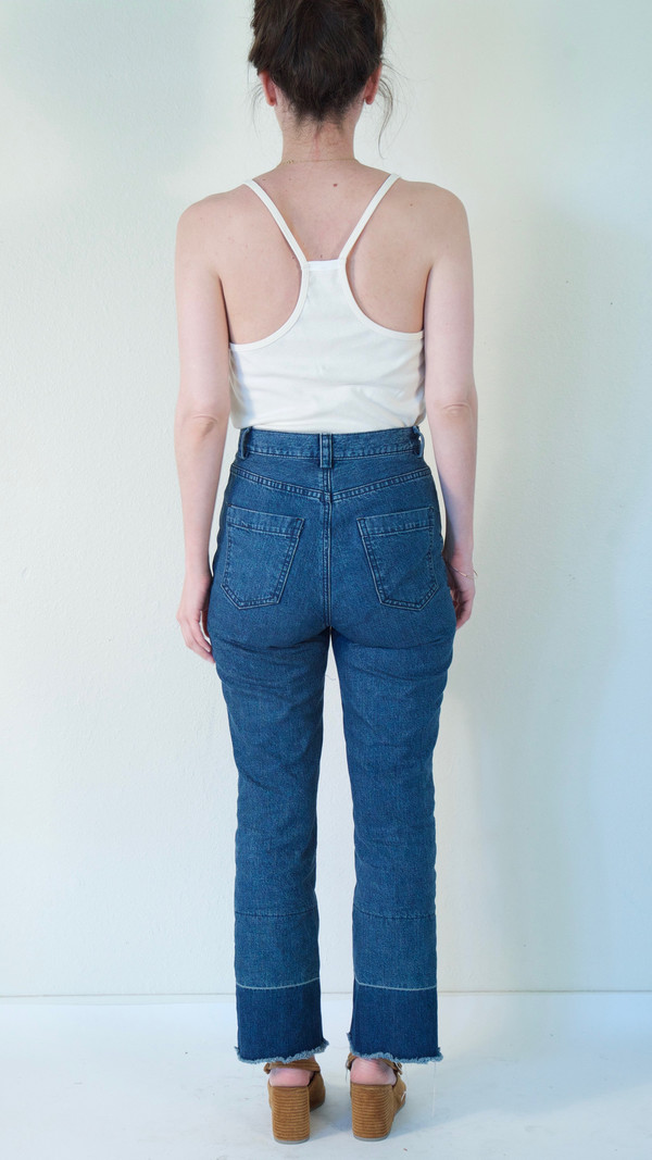 Rachel Comey Slim Legion Pant in Indigo Denim