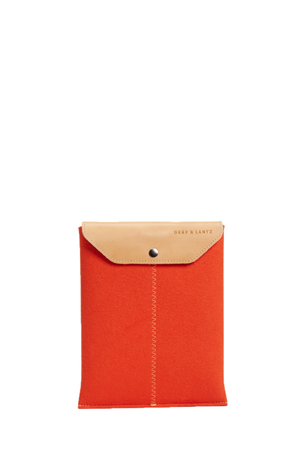 iPad sleeve orange