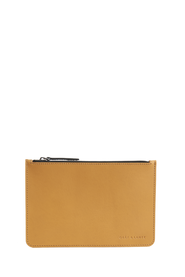 Graf & Lantz Leather Pouch Large Tan