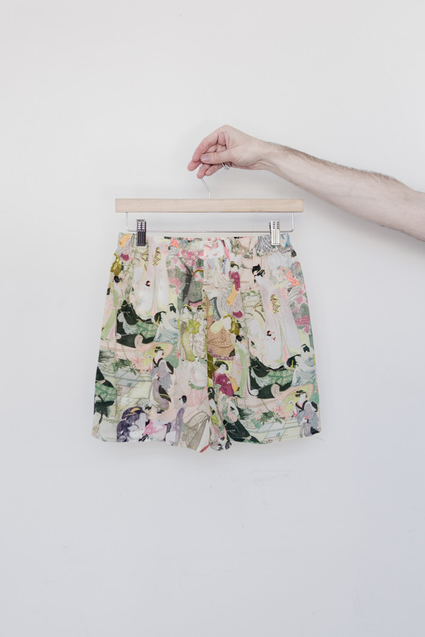 Silk Japanese Lover Short