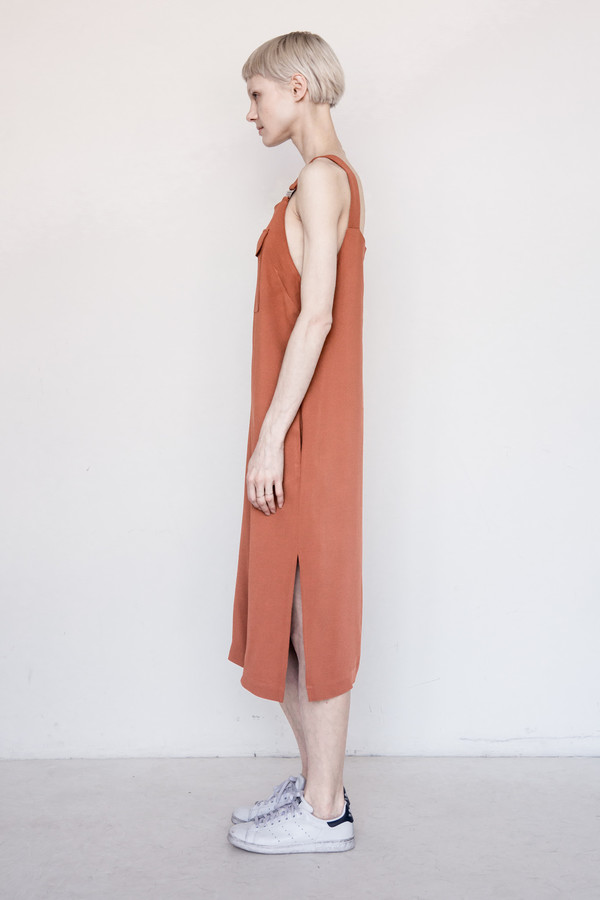 Nomia Viscose Pocket Dress
