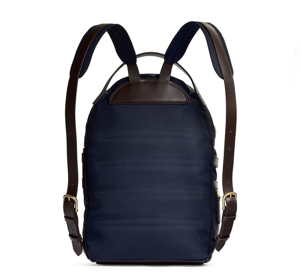 Navy and Dark Brown MS Sprint Backpack by Mismo