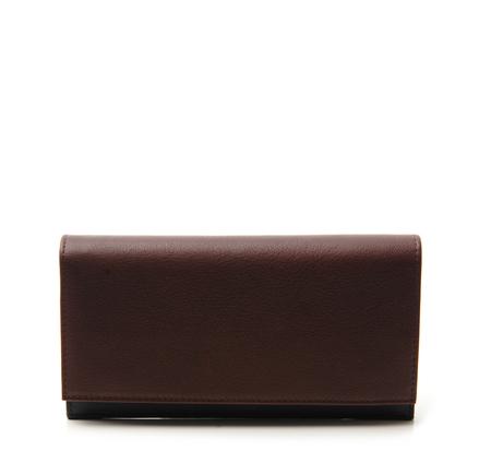Burgundy Cream 10 Wallet by Tsatsas