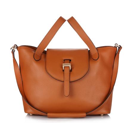 Meli Melo Tan Medium Thela Bag and Clutch