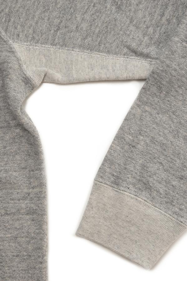 Men's FilMelange Byrd2 Dark Melange Crew Neck Fleece Sweatshirt