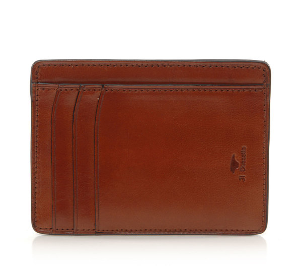 Il Bussetto Cappucino Card Case Wallet