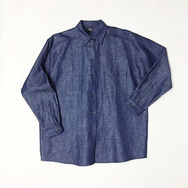 Sherie Muijs Shirt No. 18 - Denim