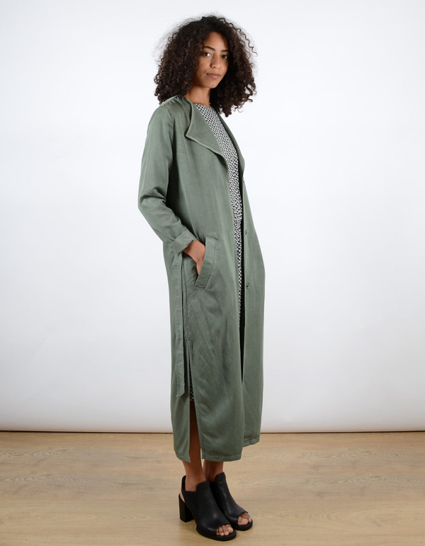 Minimum Katy Coat Castor Green