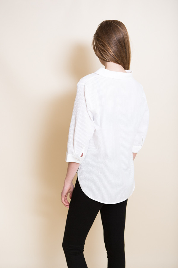 Just Female Bubble Shirt / White