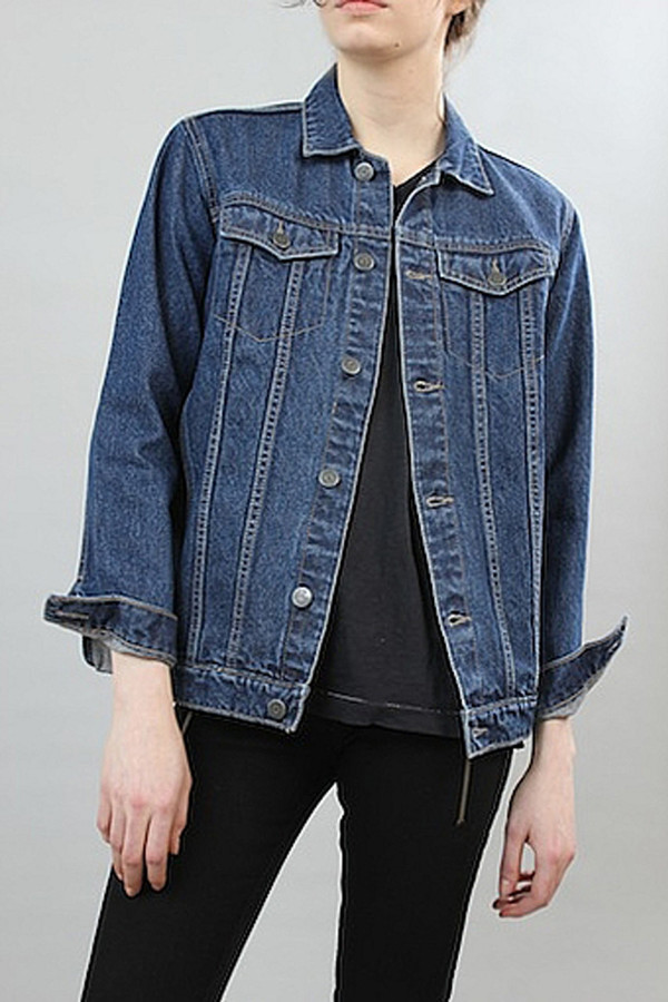 courtshop hayley denim jacket in
