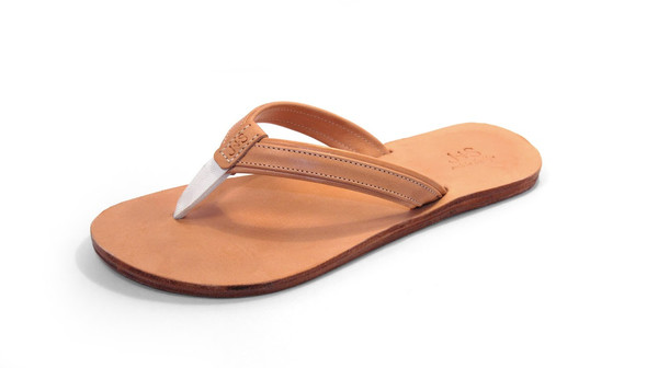 J + S Leather Sandals