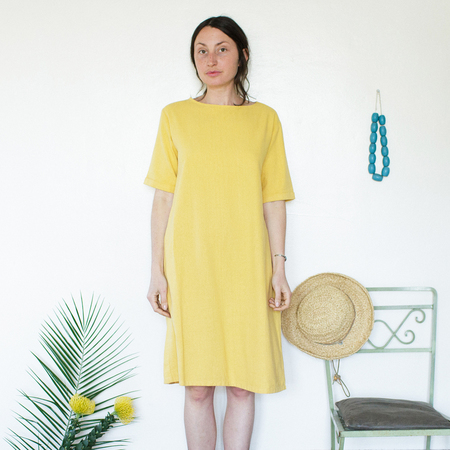 Me & Arrow Tall Dress - Sunflower