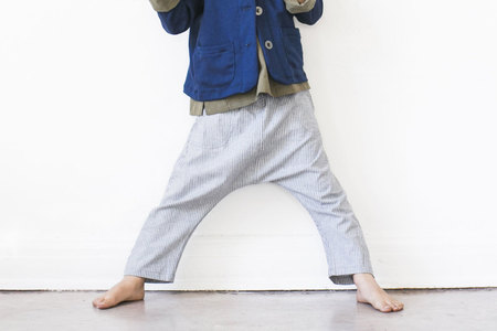 pietsie ez Pant in Gray Stripe