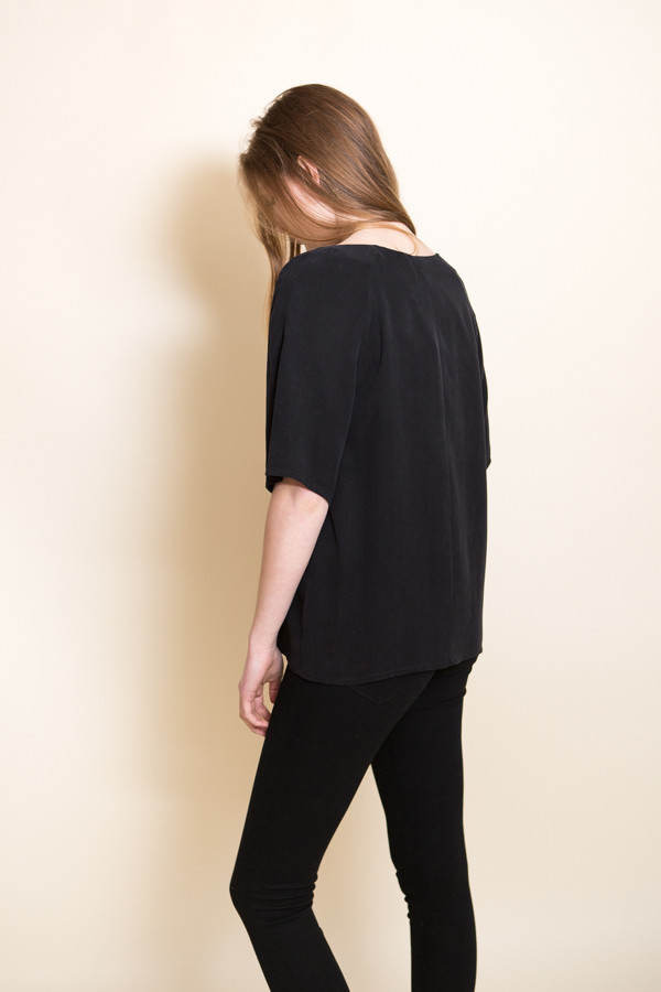 Just Female Orion Blouse / Black