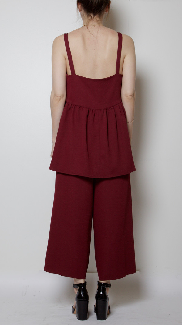 Rachel Comey Passage Top in Wine